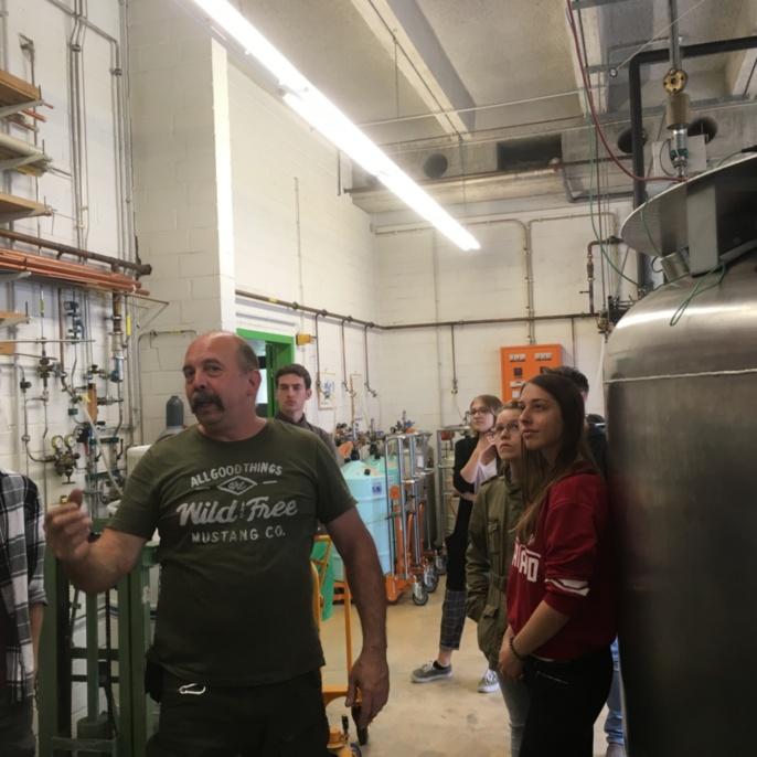 Physikalische Messtechnik SS19 Besuch am PI1 und in der Tieftemperatur Abteilung