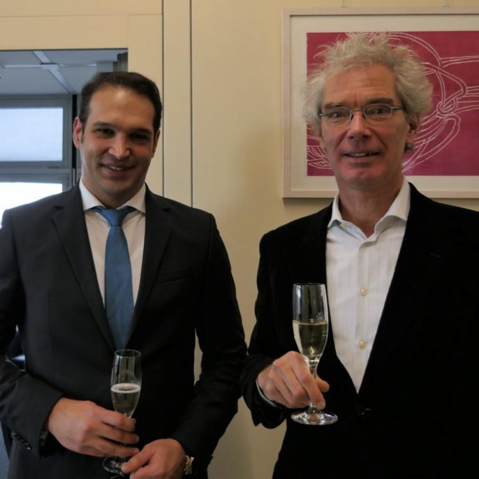 Dr. Mojtaba Javaheri and Prof. Dressel
