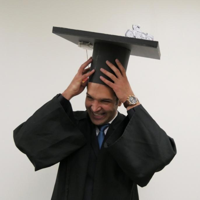 Mojtaba Javaheri Doctorate Hatting