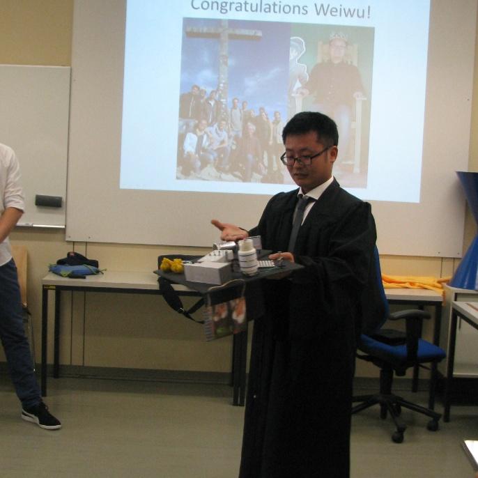 Dr. Weiwu Li Hatting Defense